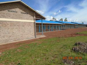 Nova OŠ v Nyangungu v Burudniju katero bo v septembru začelo obiskovati 720 otrok.