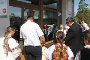 Otvoritev obnovljenega zdravstvenega doma v Vidovicah 1