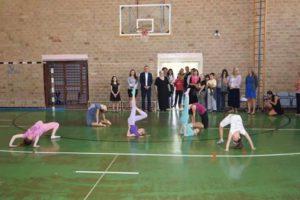 Otvoritev obnovljenih garderobnih prostorov v telovadnici v OŠ Barić