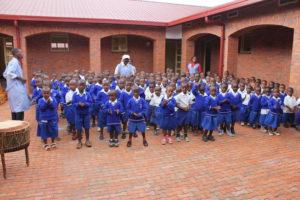 otvoritev OŠ Kigali