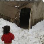 Foto huda zima Bližnji Vzhod