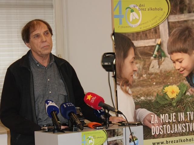 Tiskovna konferenca 2015 - dr. Jože Ramovs_