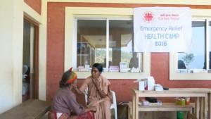 Zdravstvena oskrba s potresom prizadetih ljudi_Sindhupalchowk_Karitas