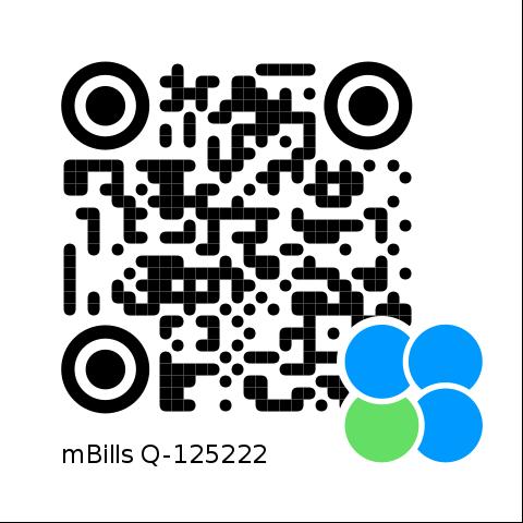 mBills QR koda za akcijo Pomagajmo preživeti in živeti