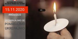 svetovni dan spomina na zrtve prometnih nesrec 2020