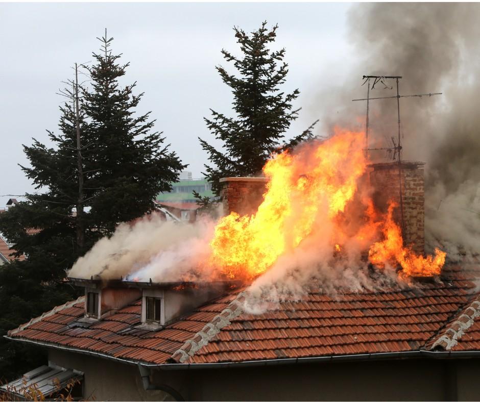goreca streha družine iz okolice Novega Mesta