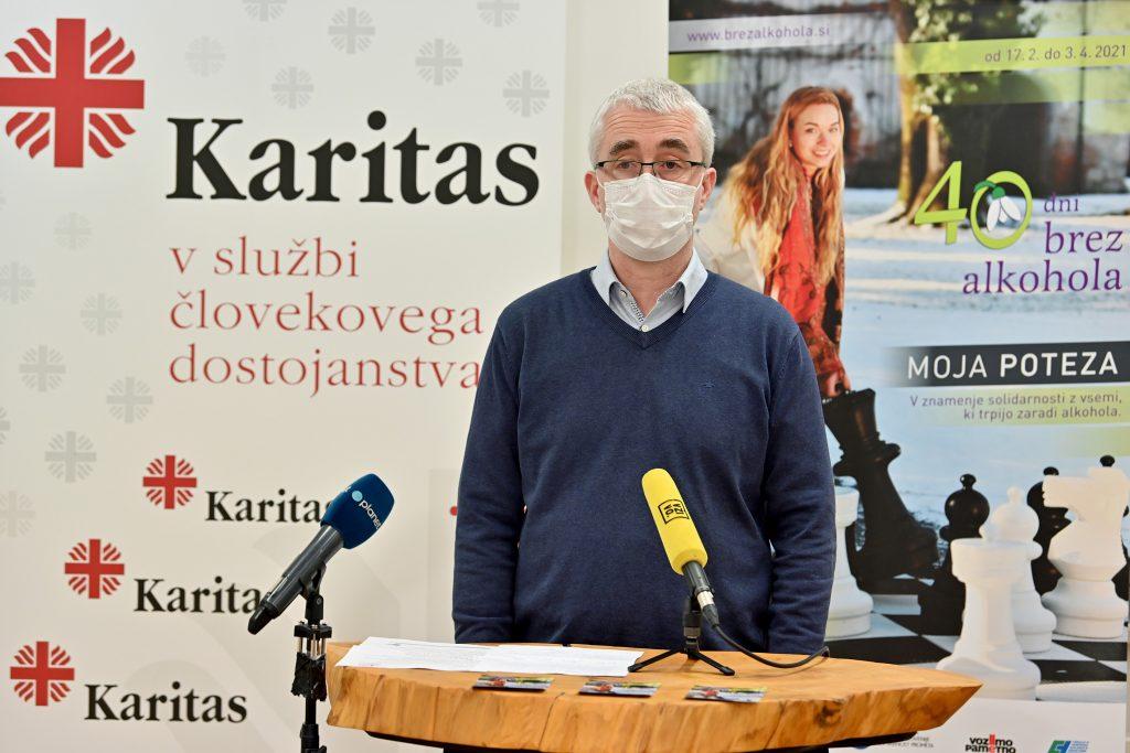40 dni brez alkohola 2021: Peter Tomažič, generalni tajnik, Slovenska karitas